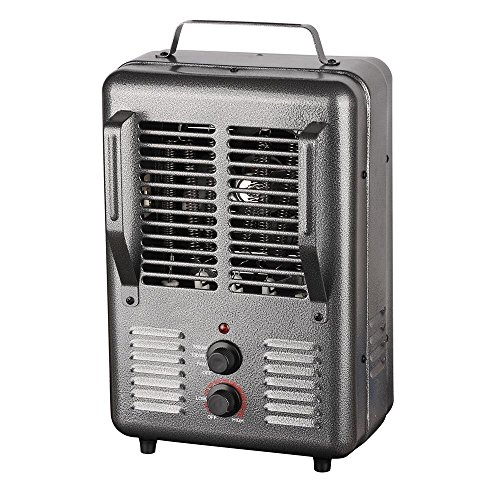 Patton Electric Thermostat Heater - King Electric PHM-1 1500-watt Portable Milkhouse Heater