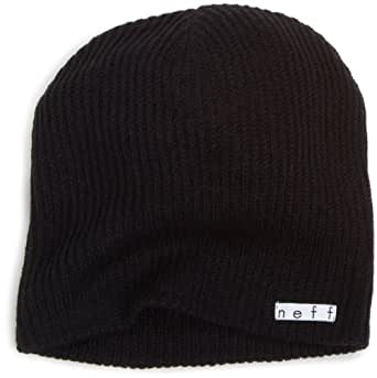 neff Men's Daily Beanie, Black, One Size