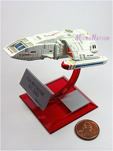 B3 U.S.S. Rio Grande NCC-72452 Furuta Star Trek Federation Ships & Alien Ships Collection 3 Beta Miniature Display Model
