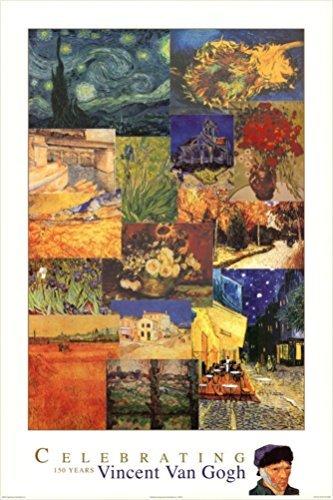 Celebrating 150 Years of Vincent Van Gogh 36x24 Art Print Po