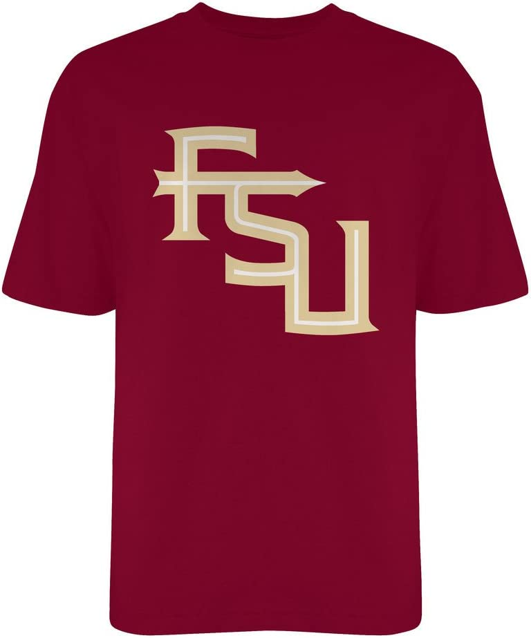 Elite Fan Shop NCAA Mens T Shirt Team Color Icon