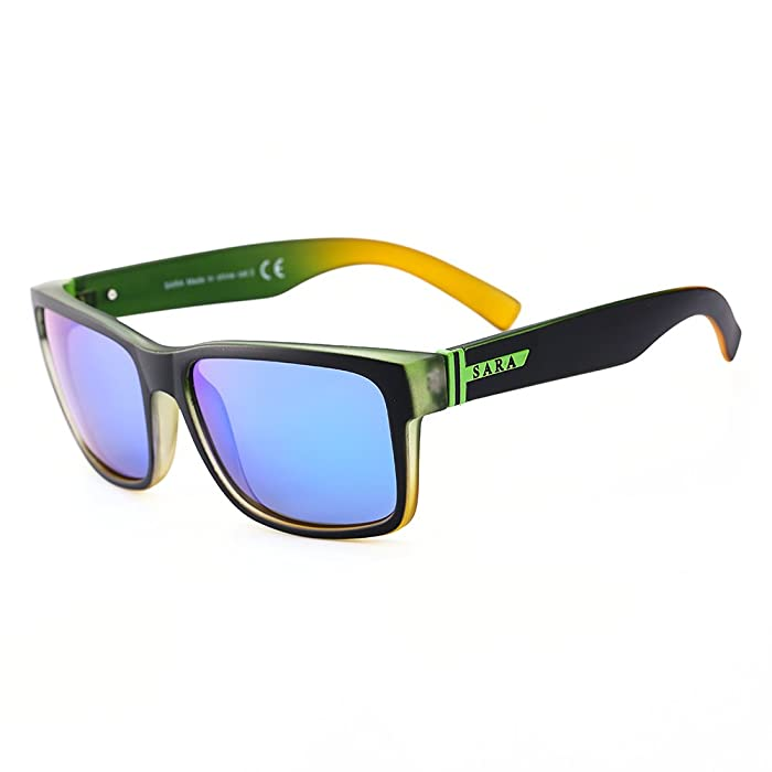 Amazon.com: Polarized Sports Sunglasses,Men And Women Running ...