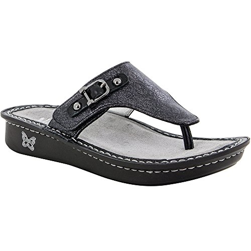 Arch Wedge Thong - Alegria New Women's Vanessa Thong Sandal Leaded 39
