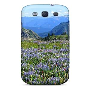 CwSlpCU3601AGhYb PC Phone Case With Fashionable Look For Case Samsung Note 3 Cover - Wild Flowers In A High Meadow