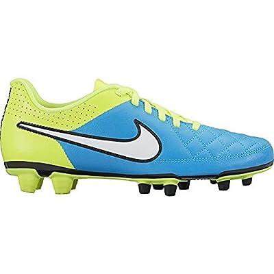 Nike Women's Tiempo Rio ll FG Blue Lagoon/Volt | Soccer