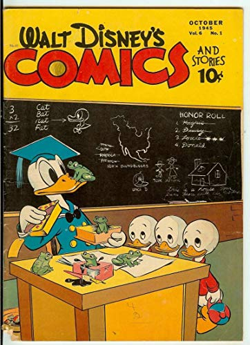 Amazon com: WALT DISNEY'S COMICS AND STORIES #61 2 5