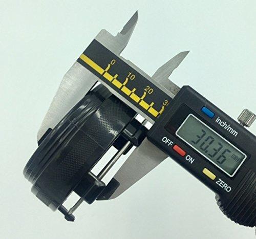 BizTech /® 65mm Tapas De Centro De Rueda Universal Efecto de Fibra de Carbono Compatible con ruedas Rays Volk Racing /…