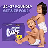 Diapers Size 4, 172 Count - Luvs Ultra Leakguards