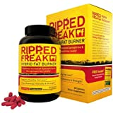 RIPPED FREAK: The #1 Rated FAT BURNER - 60 Capsules Burn Fat and Look Great!