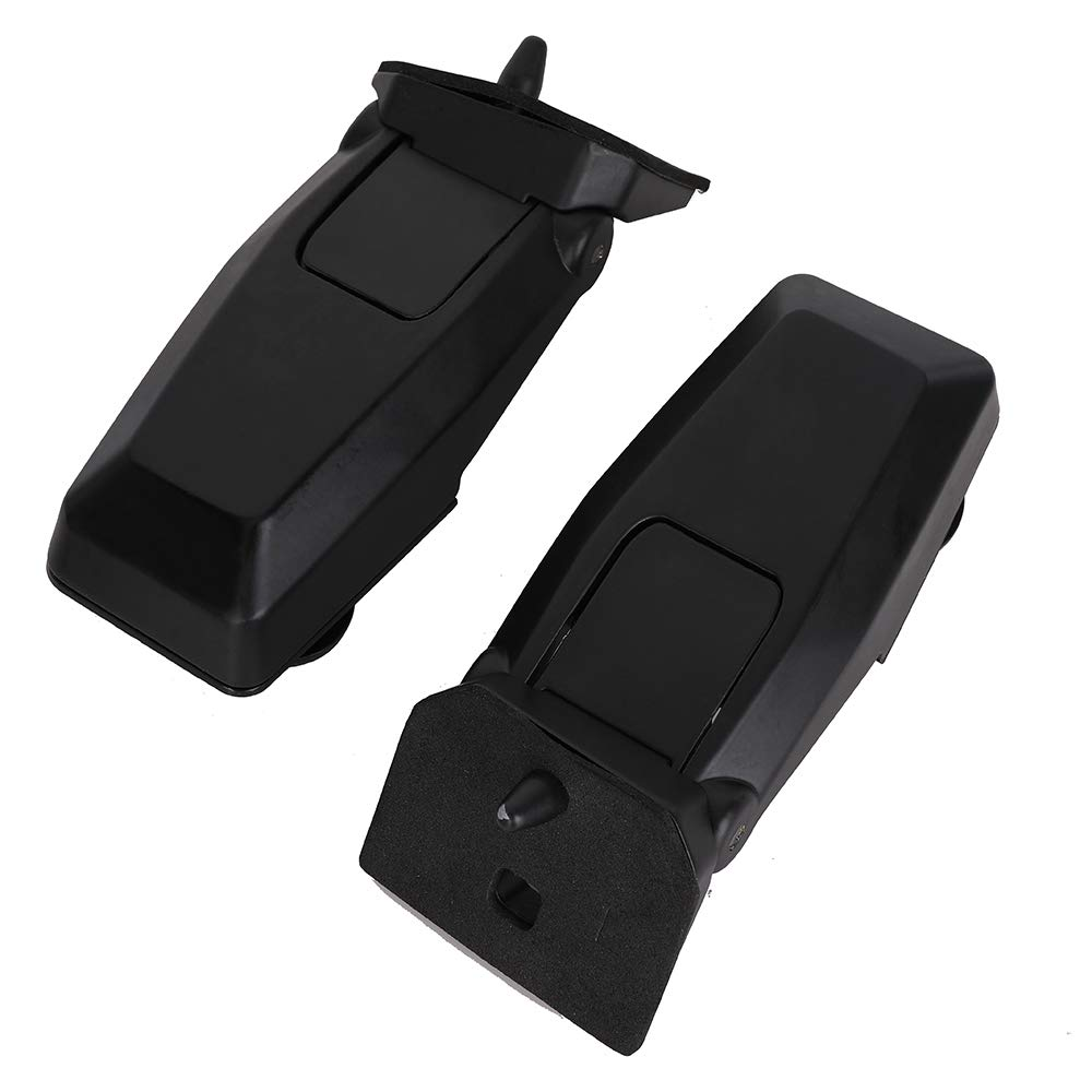 Rear Window Hinge Liftgate Glass Hinge Set Right Left Pair for 2008-2012 Jeep Liberty Replace # 57010061AB 57010060AB MNJWS