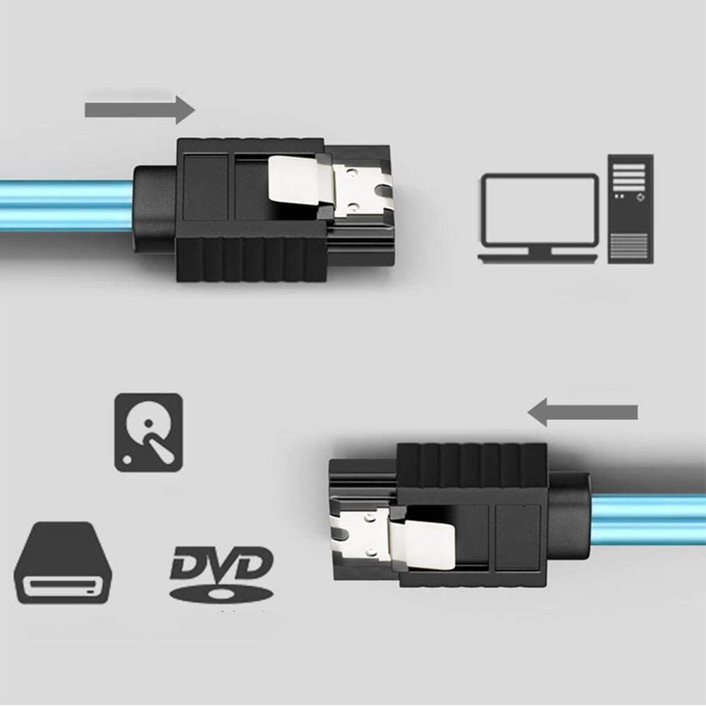 Cable Internal Mini Breakout Cable H0101 4 SATA to Hardware Server State Drive SSD 1Meter