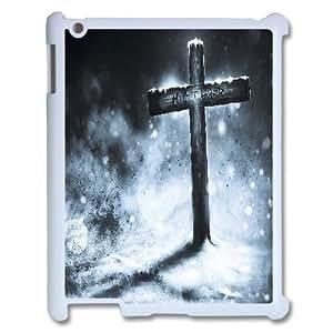 J-LV-F Cover Custom Case Jesus Christ Cross,customized Hard Plastic case For IPad 2,3,4
