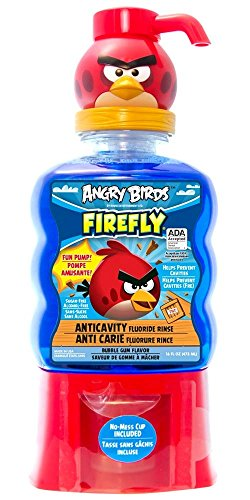 Firefly Anti Cavity Fluoride Bubble flavor