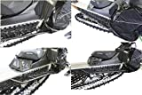 Skinz Protective Gear BPAFRB225-AL-FBK AirLoc Running Boards - Flat Black