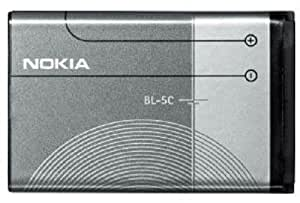 Nokia BL-5C/BL5C Extended Lithium Ion Battery - Original OEM - Non-Retail Packaging - Grey