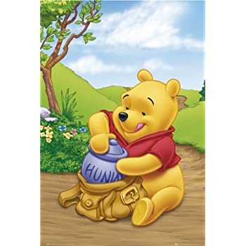 disney winnie the pooh poster packing hunny 24x36 prints posters prints. Black Bedroom Furniture Sets. Home Design Ideas