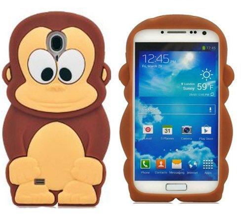 4 opinioni per Semoss Scimmia Custodia in Silicone Cover per Samsung Galaxy S4 i9500 i9505