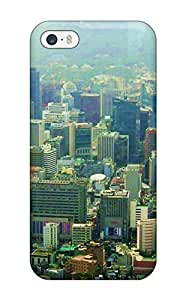Premium Seoul City Back Cover Snap On Case For Iphone 5/5s