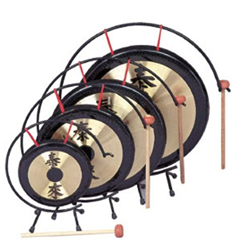 Rhythm Band Instruments RB1072 12 in. Gong with Mallet by Rythm Band