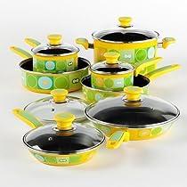 13 Piece Enamel Cookware Set