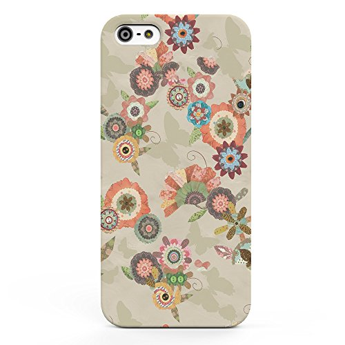 Koveru Back Cover Case for Apple iPhone 5S - Flower Bouquets Butter