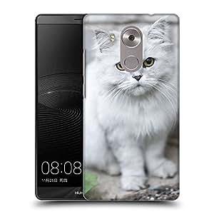 Super Galaxy Coque de Protection TPU Silicone Case pour // V00000941 Gato Kitty patrón animal // Huawei Ascend Mate 8