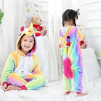Pijama Unicornio Pijamas for niños Onesie Kugurumi Panda de ...