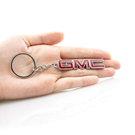 Amazon.com: KKY - Llavero de metal con el logotipo de GMC en ...