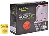 Best Top Mini Basketball Hoop Game Set Novelty Gift for Men Dad with SillyBands
