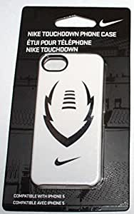 Nike Touchdown iPhone 5 5S Case White Silver