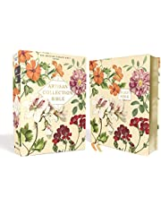 NASB, Artisan Collection Bible, Leathersoft, Almond Floral, Red Letter, 1995 Text, Comfort Print