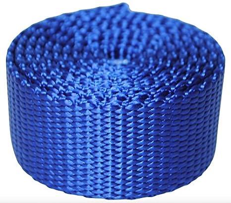 1 Nylon Webbing 1 yard, Dark Royal Blue