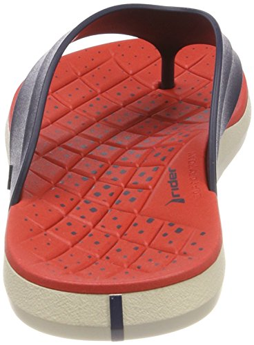 Hombre Red Beige AD Blue Chanclas Rider 8818 Multicolor para Infinity Thong XqqzP