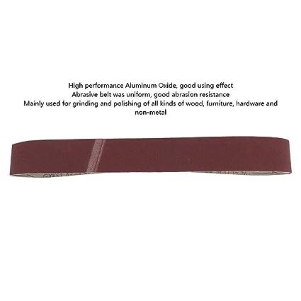 Pack of 10 320Grit Belt Aluminium Oxide 50 x 915mm