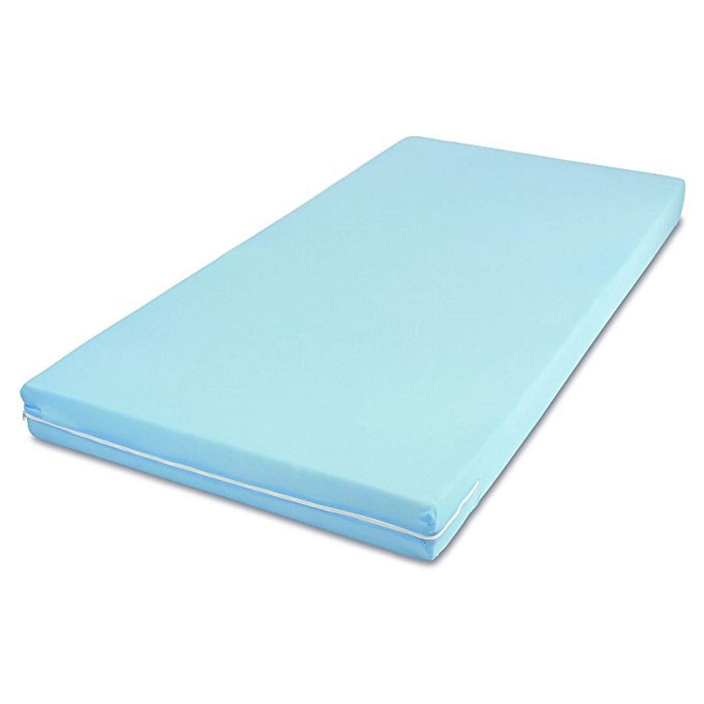 MSS Roll-Matratze, Easy Active, 120 x 200 x 11 cm, H3, Bezug Blau, Schaumstoff