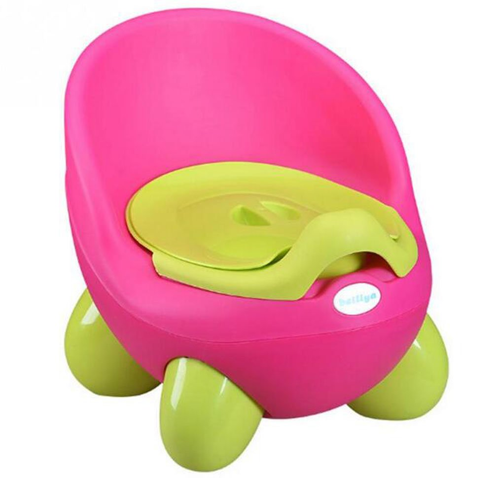 Baby Potty Toilet Car WC For Kids Toilet Trainer Girls Seat Chair Comfortable Portable Animal Pot Children Toilet for Baby Girls (green) HLMAI