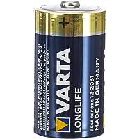 Varta Longlife D mono LR20 Batterij Alkaline Batterijen – ideaal voor afstandsbediening radio wekker en klok, verpakking…