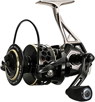JOHNCOO Carrete de Pesca 8+1 BB Spinning Fishing Reel Lisos y ...