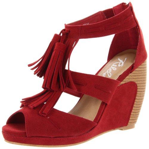 vestir mujer Rebels Red Sandalias para de FqwwAUEH
