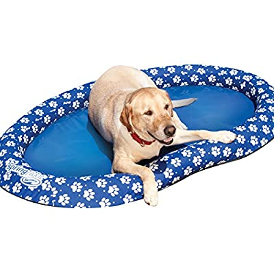 SwimWays Spring Float Paddle Paws Dog Pool Float