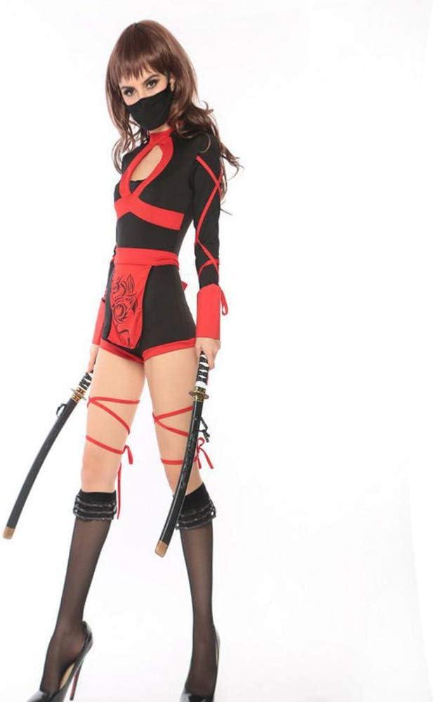 Shishiboss Disfraz de Halloween para Adulto, Disfraz de Ninja ...
