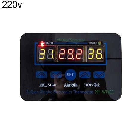 NAttnJf termostato Controlador de Temperatura 12/220 V 10 A Interruptor de Control de termostato