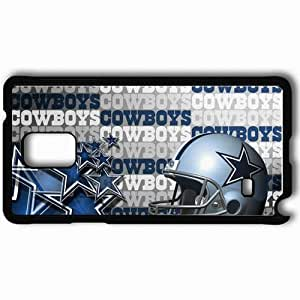 Personalized Samsung Note 4 Cell phone Case/Cover Skin 1689 dallas cowboys Black