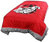 College Covers Georgia Bulldogs 2 Sided Reversible Comforter, Twin
