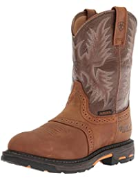 Mens Workhog Pull-on Waterproof Pro Work Boot