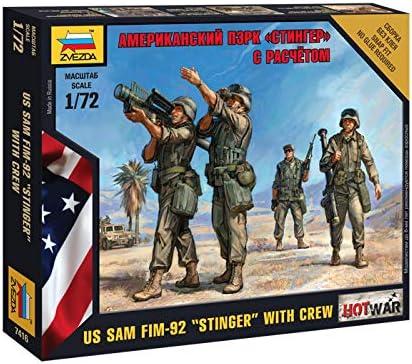 Zvezda American Fim-92 Sam Crew 1//72
