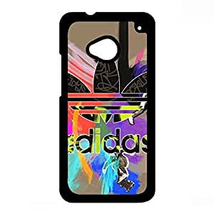 The Adidas Cover Phone Case For Htc One M7,Hard Plastic Cool Colorful Originals Cover Creative Design