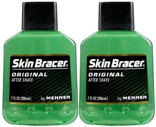 Skin Bracer by Mennen Afta After Shave-7 oz, 2 pk