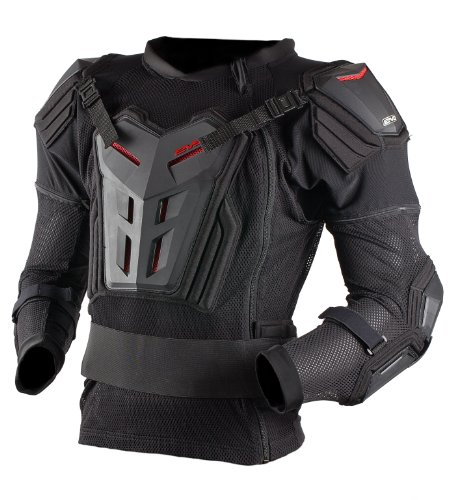 EVS Sports Comp Suit (Black, Small)
