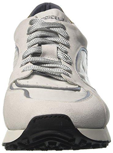 Barracuda Bu2955, Sneaker a Collo Basso Uomo Bianco
